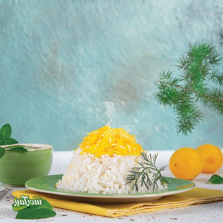 عکس تبلیغاتی برنج ویلیام