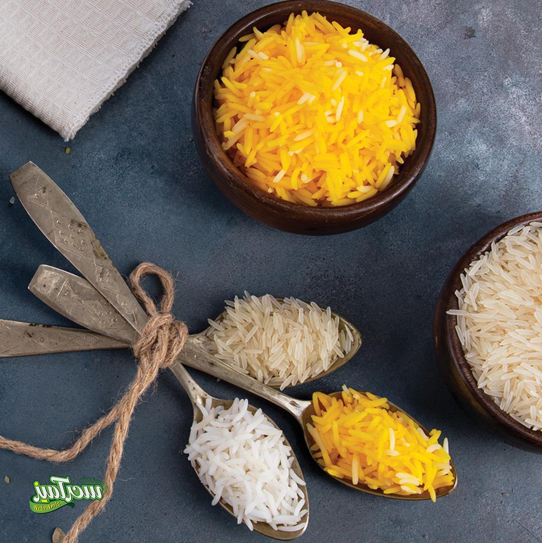 عکس تبلیغاتی برنج سحرآمیز